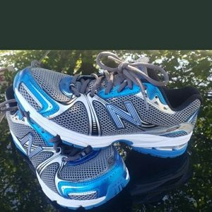 New Balance 880 Running Shoes electric blue white
